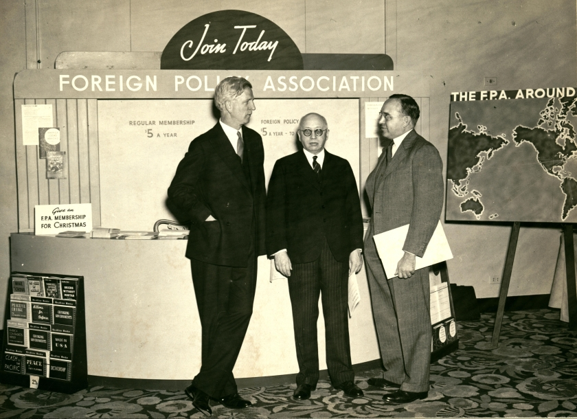 Foreign Policy Association, 1938